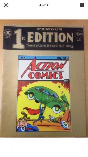 Action Comics 1st edition