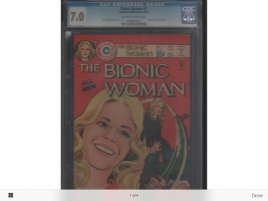 Bionic woman 1st issue