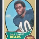1970 Gale Sayers card