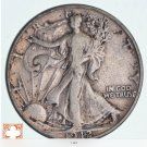 1942 Walking Liberty Half Dollar 90% Silver *662