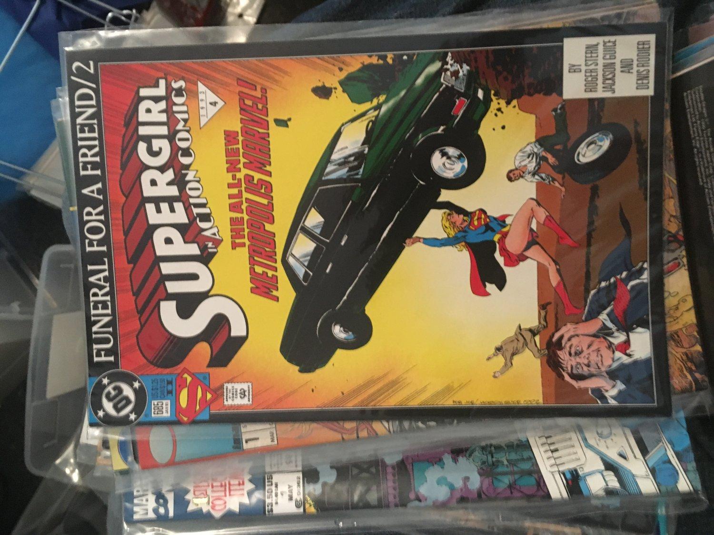 Supergirl comic