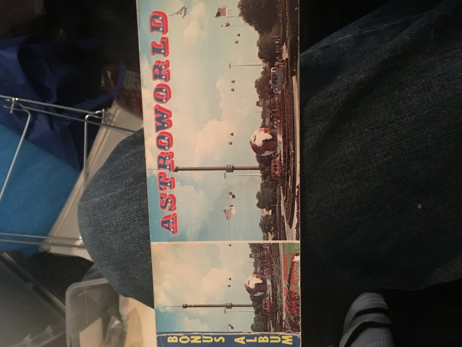 Astroworld post cards