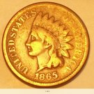 1865 indian head cent.  Very scarce