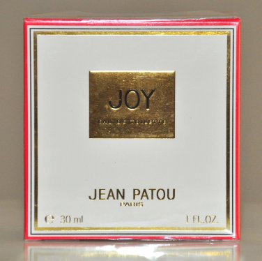 Jean Patou Joy Eau de Toilette for woman Edt 30Ml 1 Fl. Oz. Perfume Rare Vintage 1991