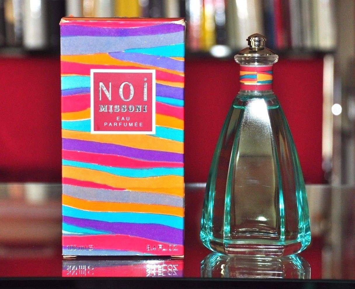 Missoni Noi Eau Parfumee 100ML 3.4 Fl. Oz. No Vapo Woman Rare Vintage Old 1993