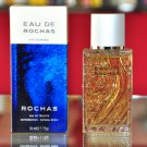 Rochas eau de Rochas Homme Eau De Toilette Edt 50ML 1.7 Fl. Oz. Man First Version Rare 1993