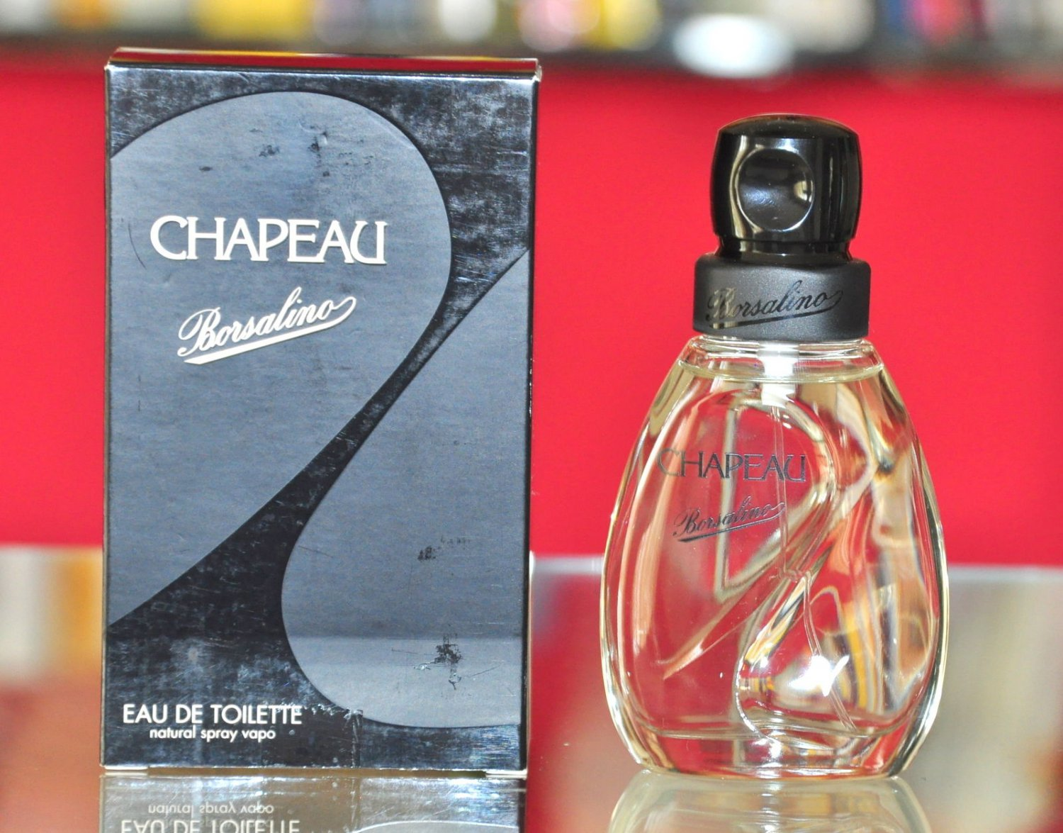 Borsalino Chapeau Eau De Toilette Edt 50ML 1.7 Fl. Oz. Unisex First Version Rare 1997