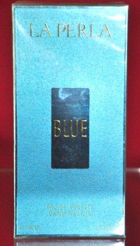 La Perla Blue Eau De Toilette Woman Edt 100ML 3.4 Fl. Oz. Rare Vintage Old 1995