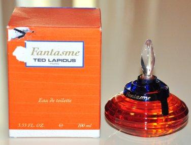 Ted Lapidus Fantasme Edt 100ML 3.4 Fl. Oz. No Spray First Version Old Formula Rare 1992