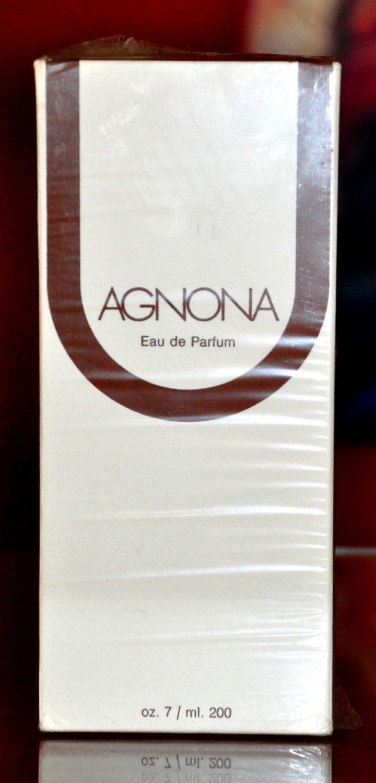 Agnona Eau De Parfum For Woman EDP 200ML 7 Fl. Oz. No Spray Super Rare Vintage Old New 1980s