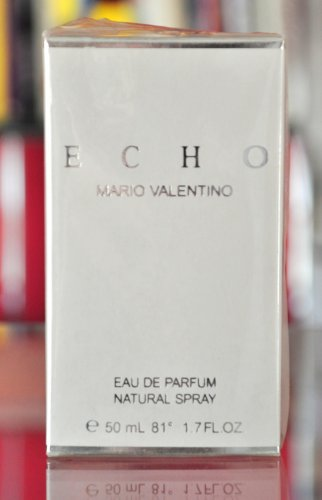 Echo Mario Valentino for woman Eau de Parfum Edp 50ML 1.7 Fl. Oz. Spray Rare Vintage Old 1989