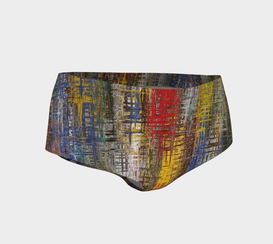 Color Splash Mini Shorts