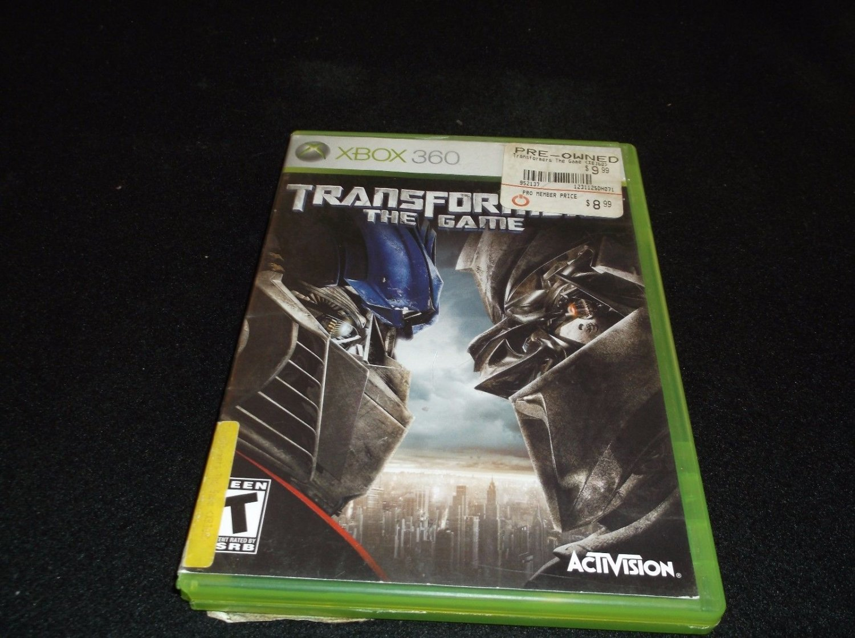 Transformers: The Game (Microsoft Xbox 360, 2007)