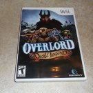 Overlord: Dark Legend - Nintendo Wii Game - COMPLETE - Rare, Also plays on Wii U