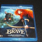 Brave (Blu-ray/DVD, 2012, 3-Disc Set, Collectors Edition)