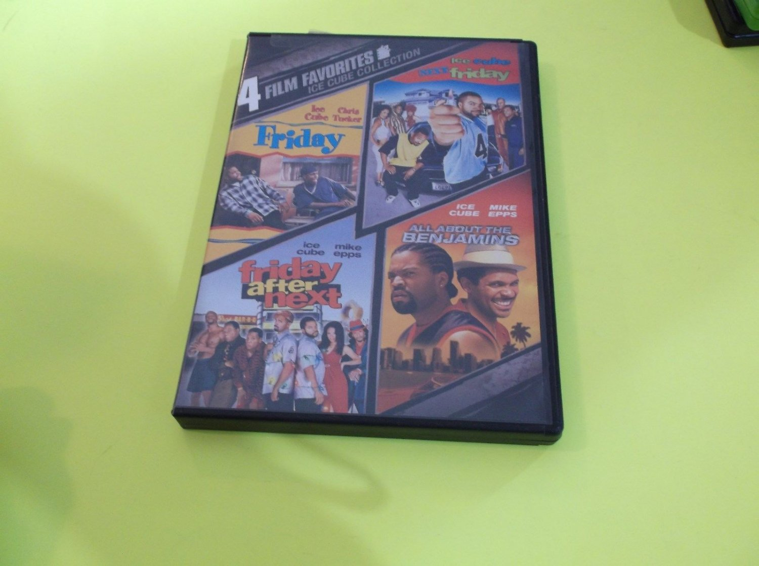 4 Film Favorite - Ice Cube Collection (DVD, 2008, 2-Disc Set)