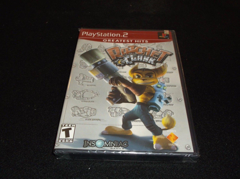 Ratchet & Clank Greatest Hits (Sony PlayStation 2, 2003) NEW