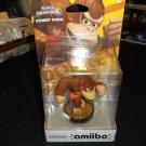 NEW Donkey Kong Amiibo Nintendo Super Smash Bros #4 US Version 1st edition NIB