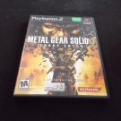Metal Gear Solid 3: Snake Eater (Sony PlayStation 2, 2004)CIB