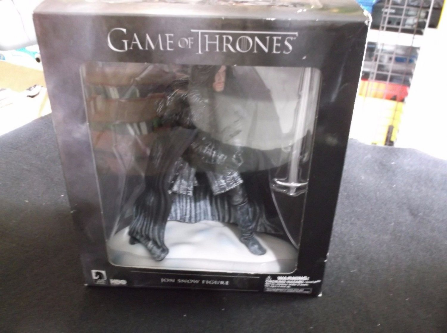 """DARK HORSE DELUXE HBO GAME OF THRONES JON SNOW 7"""" COLLECTOR EDITION FIGURE TOY"""
