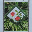 American Beauty Quilt Square Pattern