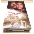 I Know Why The Caged Bird Sings VHS, 1998 Maya Angelou New/Sealed OOP Out of Print / NEVER ON DVD!