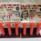 New Vintage 1967 Fedtro Car Electronic Road Flares 1960s 60s 60's 1960's Collectible Automobilia