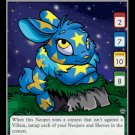 Starry Cybunny Holofoil Rare 18/100 Neopet Card