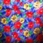 """Large Floral Cotton 44"""" wide 4 1/2 yards"""