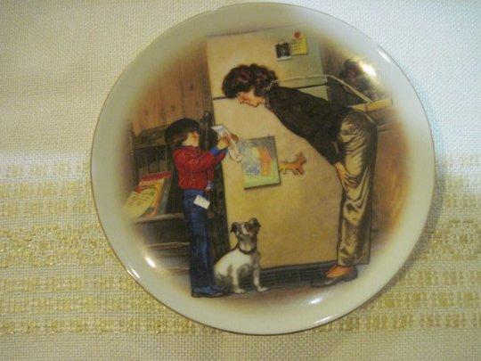 Avon Precious Memories Mother's Day Plate 1985