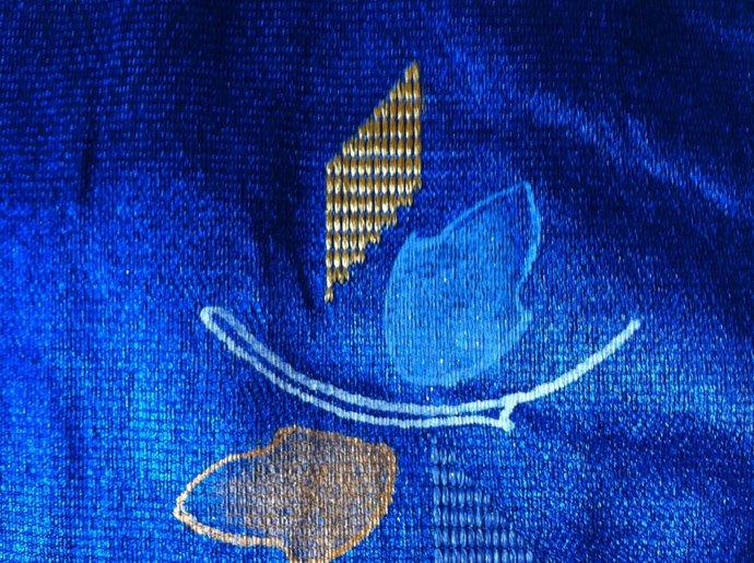 Sapphire Blue Table Runner