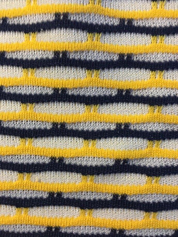 """64"""" wide 1 yard 30"""" Stripe Knit"""