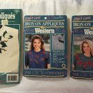 3 Unopened Appliqué Packages