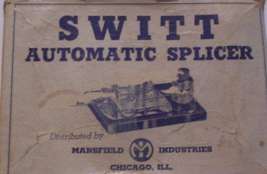Vintage Switt Automatic Splicer