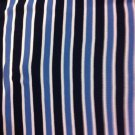 "56"" wide 32"" long Blue Stripe Knit"