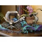 Victorian Brass `Enchanted Evening` Fishbowl Stand
