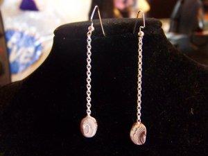 Single stone earrings