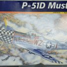 Revell/Monogram 1:39 Scale P51D Mustang WWII Winning Fighter, Model, Complete w/Decals