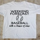 BASEBALL TEE-ADULT 2X-LARGE