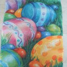 BEAUTIFUL EASTER EGGS DECORATIVE FLAG *NEW*