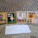 MARY ENGELBREIT 8 ADORABLE CARDS & 2 SETS OF POST IT NOTES ***SO CUTE***