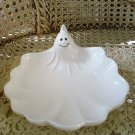 MIDWEST IMPORTERS HALLOWEEN WHITE GHOST CERAMIC CANDY DISH ***RETIRED***