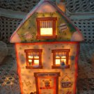 CHERISHED TEDDIES ADORABLE CHRISTMAS VILLAGE LIGHT UP VILLAGE HOUSE