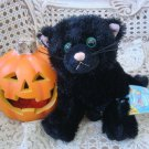 WEBKINZ BLACK CAT HALLOWEEN RETIRED LIMITED EDITION NEW WITH CODE ***SO CUTE***