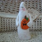 """MIDWEST OF CANNON FALLS EDDIE WALKER LARGE 8"""" TALL GHOST HALLOWEEN FIGURINE *NEW"""