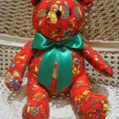 CHRISTMAS TOYS FABRIC CHRISTMAS TEDDY BEAR ***NEW*** *SO CUTE**