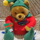 HALLMARK LARGE CHRISTMAS ELF BEAR RETIRED   **NEW*** *SO CUTE**