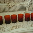 6 HALLOWEEN VOTIVE CANDLE HOLDERS PUMPKINS BLACK CATS HAUNTED HOUSE **SO CUTE**
