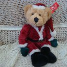 "RUSS BERRIE LARGE 15"" TALL  KRIS SANTA BEAR **NEW WITH TAG** SO CUTE"