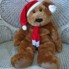 """RARE EXTRA LARGE TY SANTA TEDDY BEAR 29"""" TALL **NEW WITH TAGS** MINT CONDITION"""